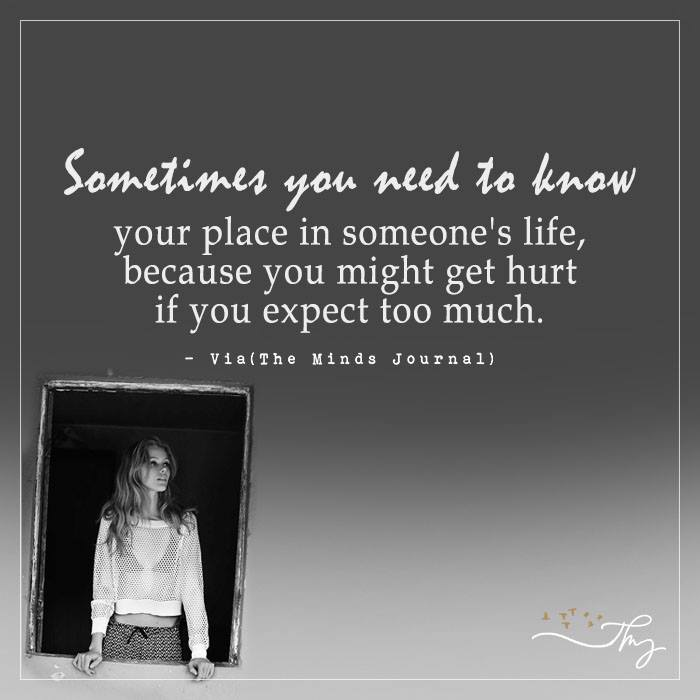 Sometimes you need to know