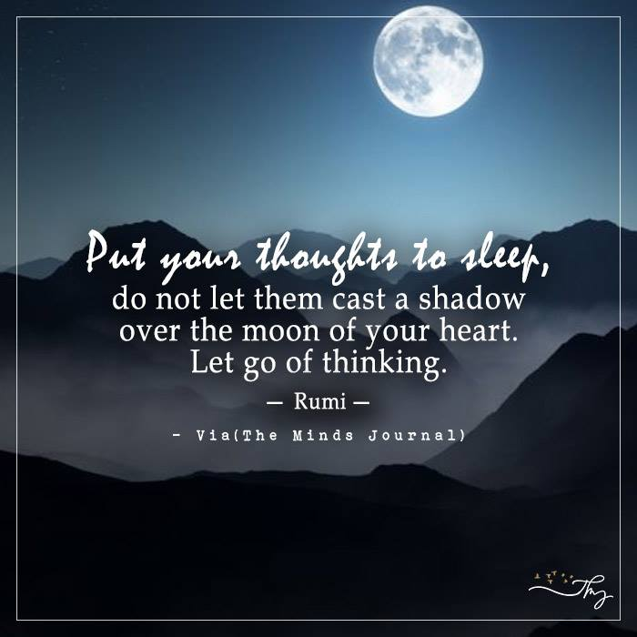 Put Your Thoughts To Sleep
