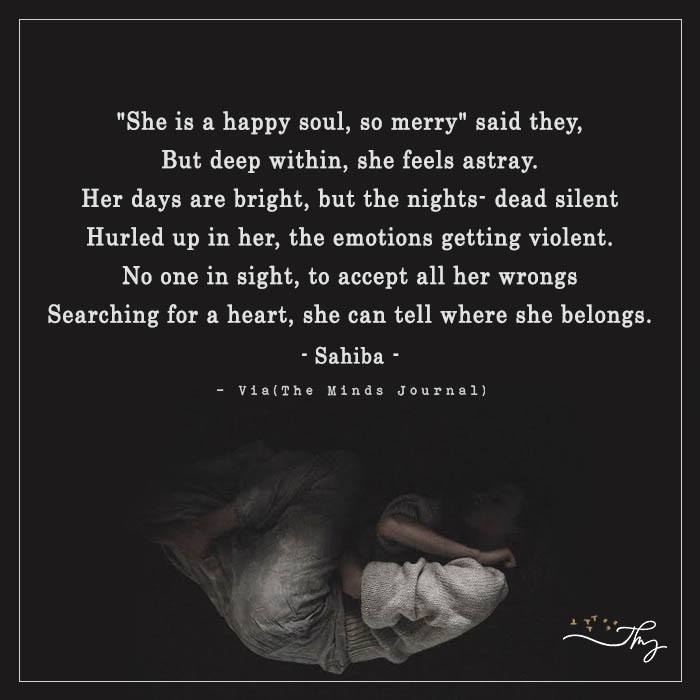 a merry soul ?