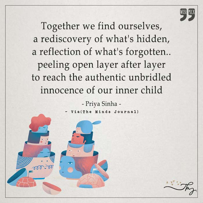 Together we find ourselves