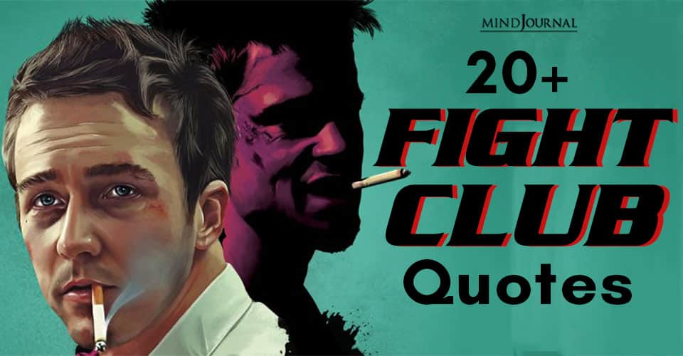 Fight Club Quotes Change Outlook Life