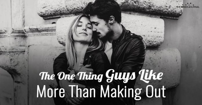 The ONE Thing Guys Like More Than Making Out (But Won't Tell You)