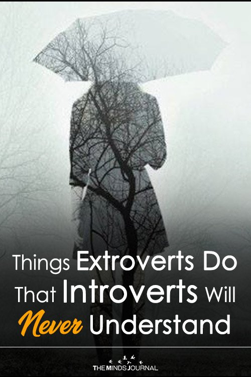 Things Extroverts Do That Introverts Will Never Understand