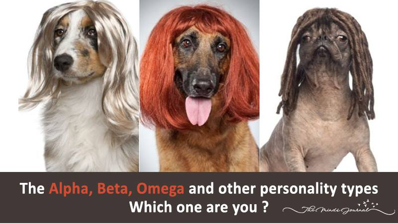 The Alpha, Beta, Omega and other Personality Types – Which one are you ?