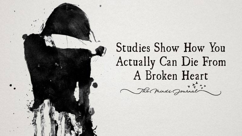 Studies Show How You Can Actually Die From a Broken Heart