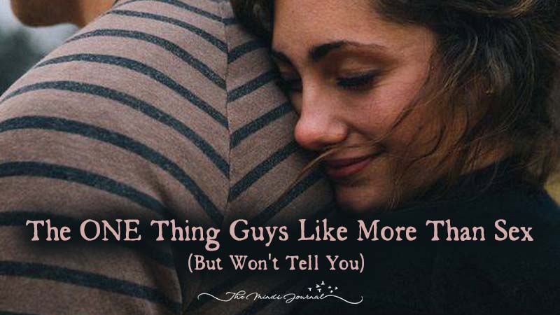 The ONE Thing Guys Like More Than Sex (But Won't Tell You)