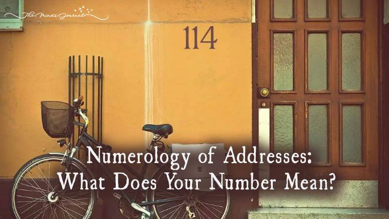 Numerology Of Addresses: What Does Your Number Mean?