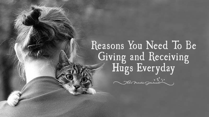 9 Reasons You Need To Be Giving and Receiving Hugs Everyday