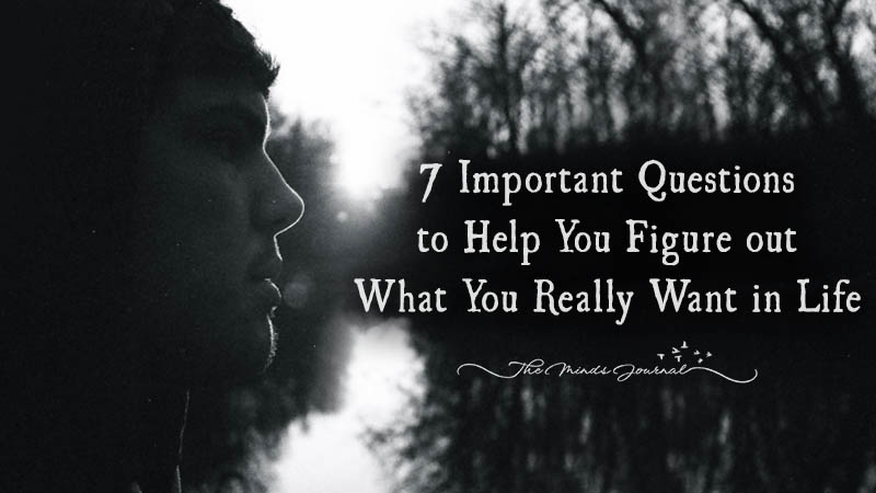 7 Important Questions to Help You Figure out What You Really Want In Life