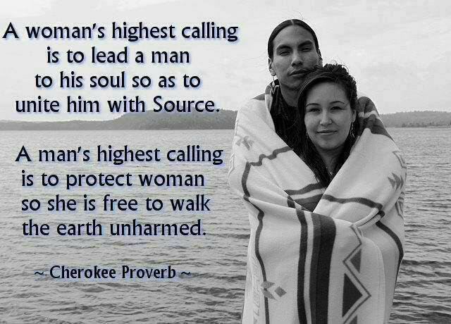 a woman's highest calling is to lead a man