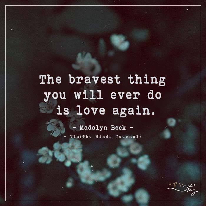 The Bravest Thing The Minds Journal