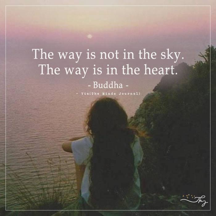 The way is not in the sky