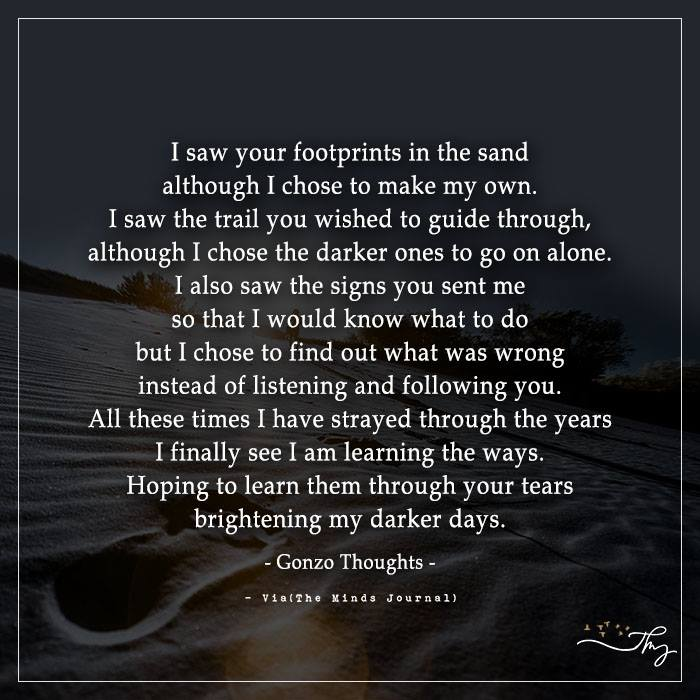 About Those Footprints