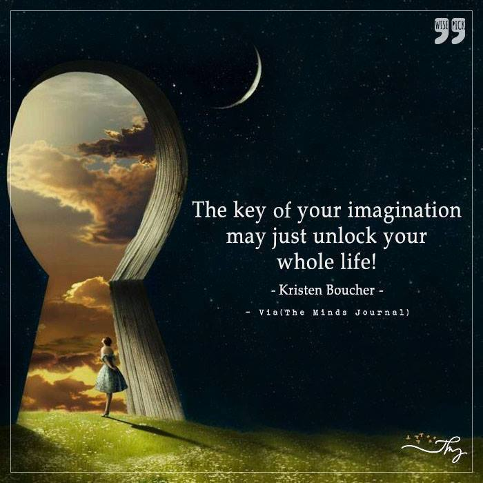 The key of your Imagination