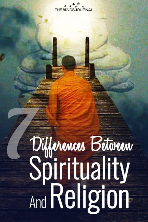 7 Differences Between Spirituality And Religion