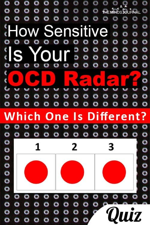 How Sensitive Your OCD Radar pin