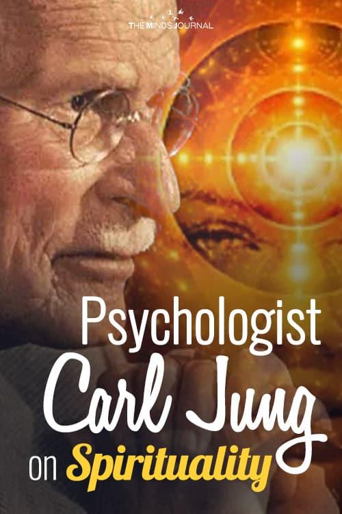 Psychologist Carl Jung on Spirituality pin