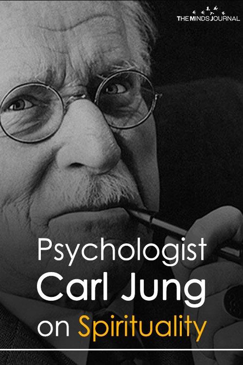 Carl Jung on Spirituality pin