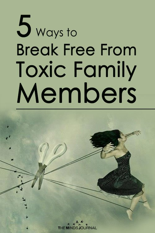 5 Helpful Tips To Deal With Toxic Family And Save Yourself