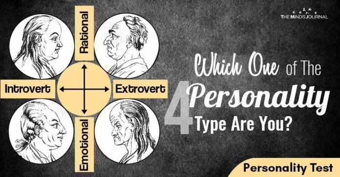 Which One of The four Personality Type Are You