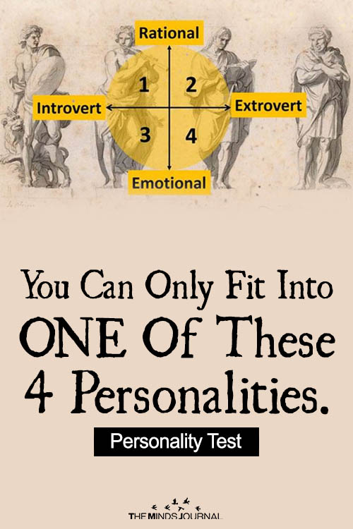 You Can Only Fit Into ONE Of These 4 Personalities.