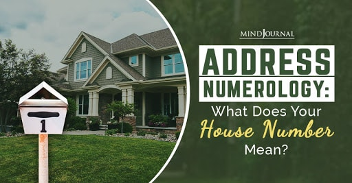 address numerology what does your house number mean