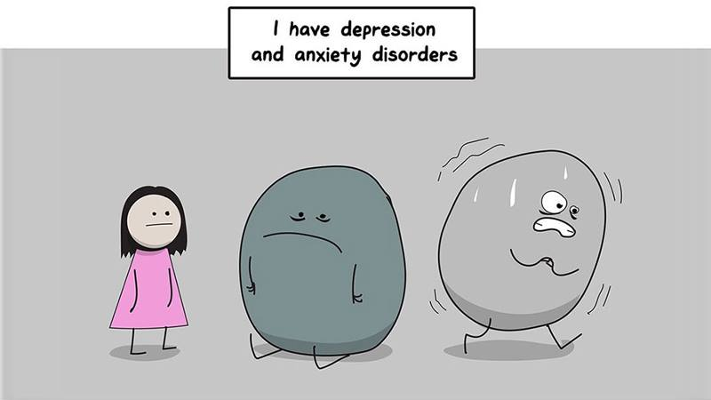 Why Anxiety & Depression Are So Difficult To Fight: A perfect Illustration