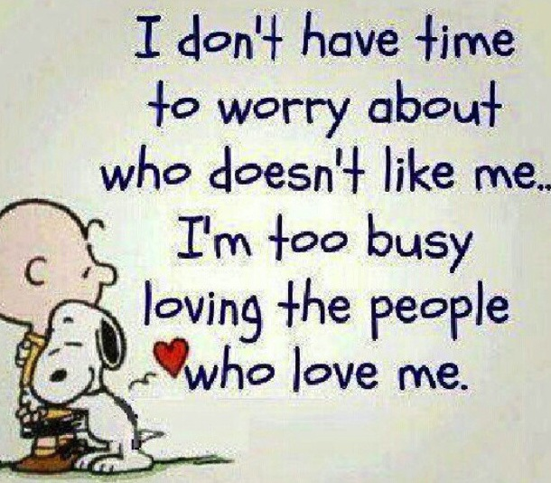 Snoopy quote on relationships