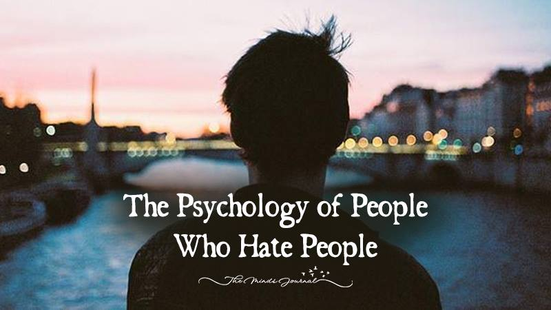"""The Psychology of People Who """"Hate People"""""""