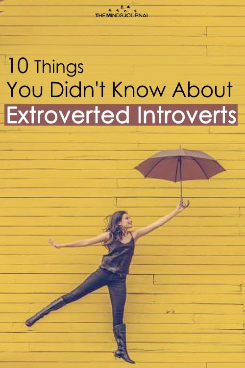 10 Things You Didn't Know About Extroverted Introverts