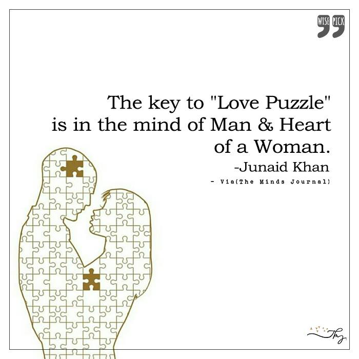The key to Love Puzzle