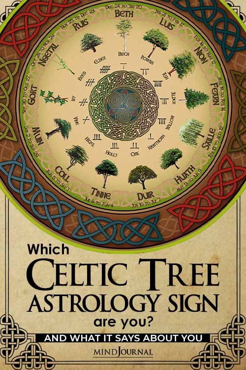 Celtic Tree Astrology Sign says About You pin
