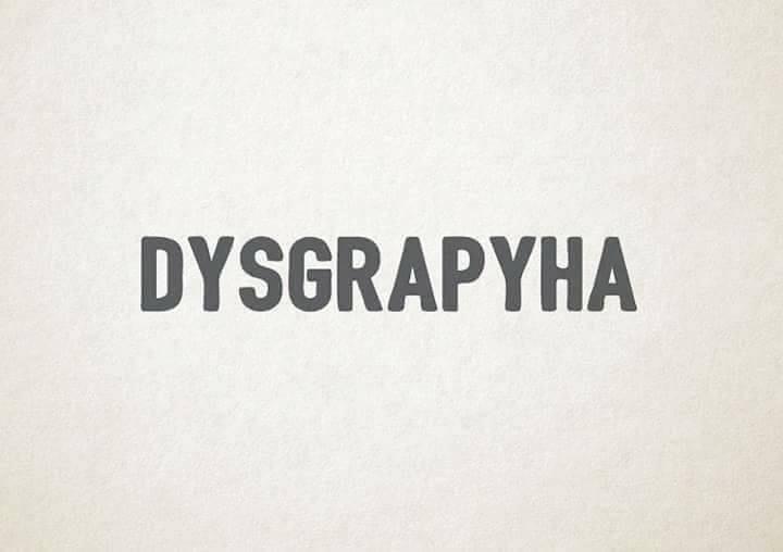 Dysgrapyha