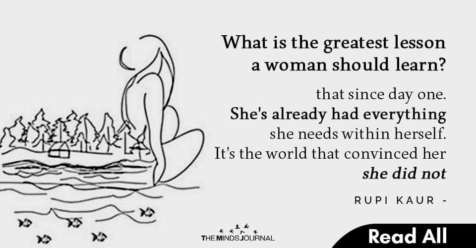 Poetries From Feminist Poet Rupi Kaur