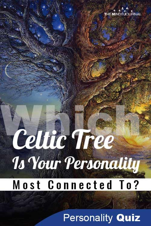 Which Celtic Tree Personality pin