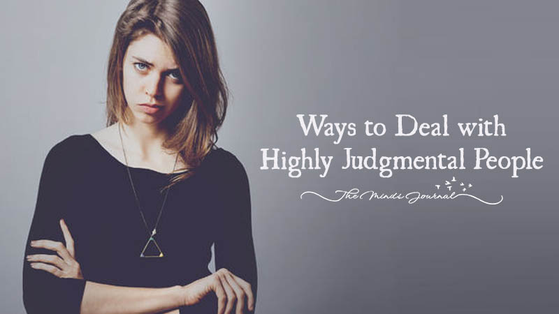 7 Clever Ways to Deal with Highly Judgmental People
