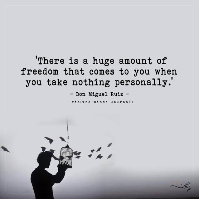 There is a huge amount of freedom