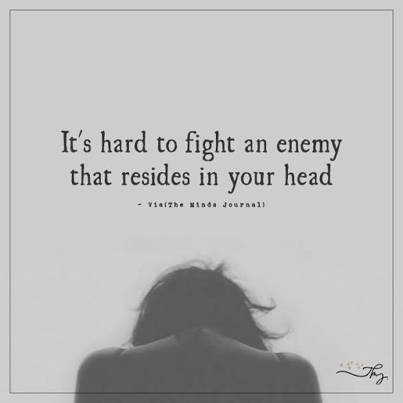 it's hard to fight