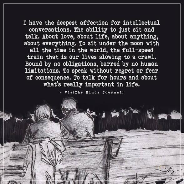 I have the deepest affection