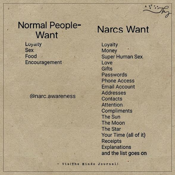 Normal people want