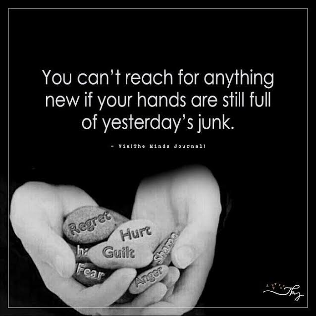 You can't reach for anything new