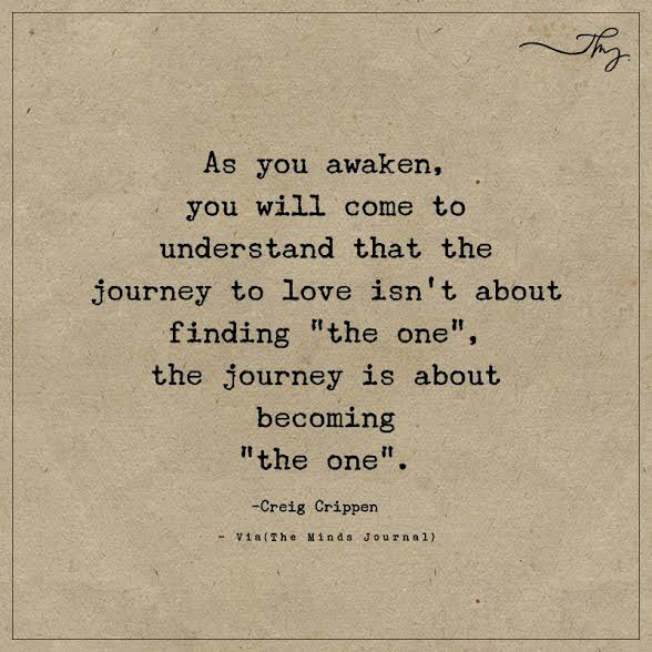 As you awaken, you will come to understand