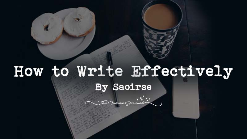 How to Write Effectively