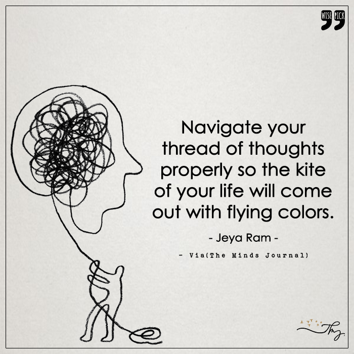 Navigate your thread of thoughts