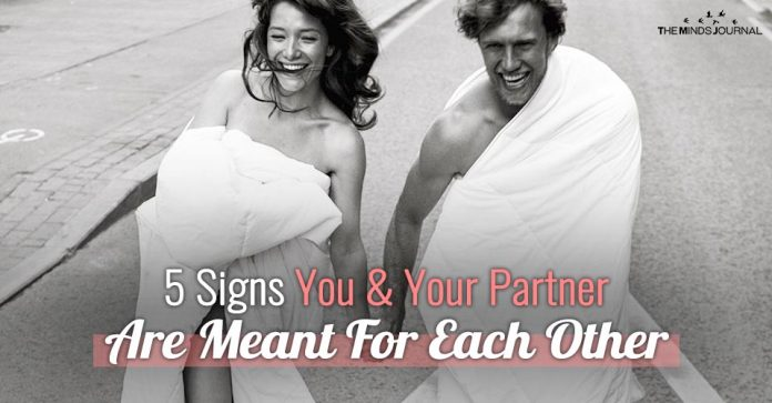 5 Signs You and Your Partner Are Meant For Each Other