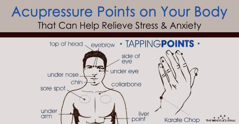 Acupressure Points on Your Body That Can Help Relieve Stress & Anxiety