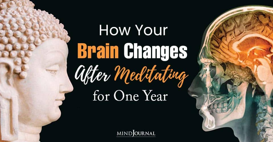 Brain Changes Meditating for One Year
