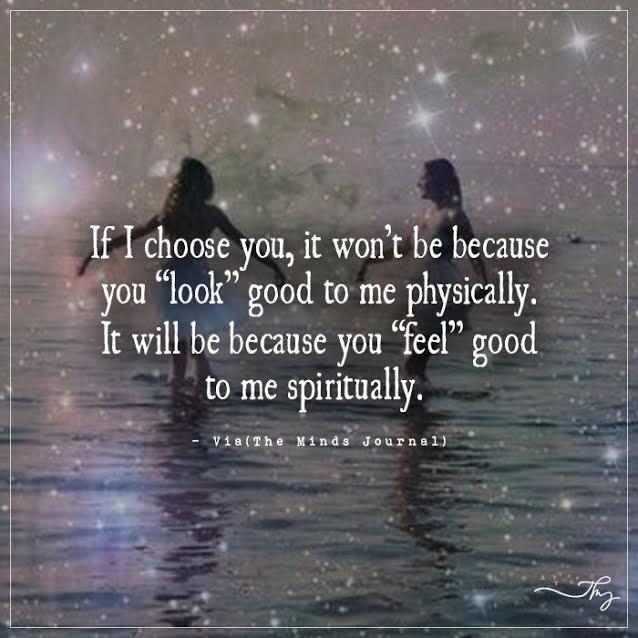 Feel Good to me Spiritually