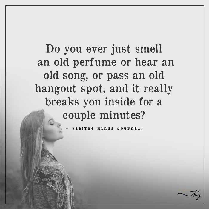 The Past Breaks You Inside