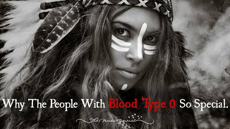 The Reason Why People With Blood Type 0 Are So Special
